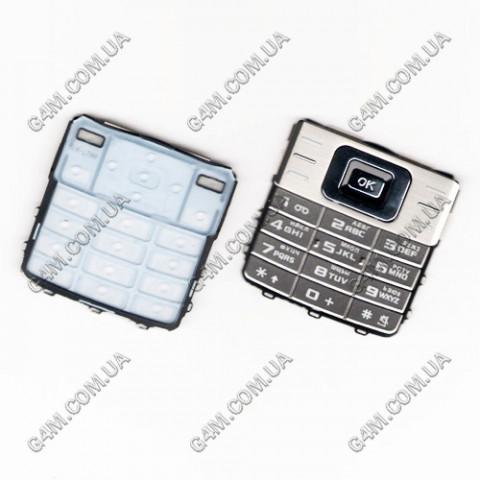 Клавиатура Samsung L700 серебристая, русская, High Copy