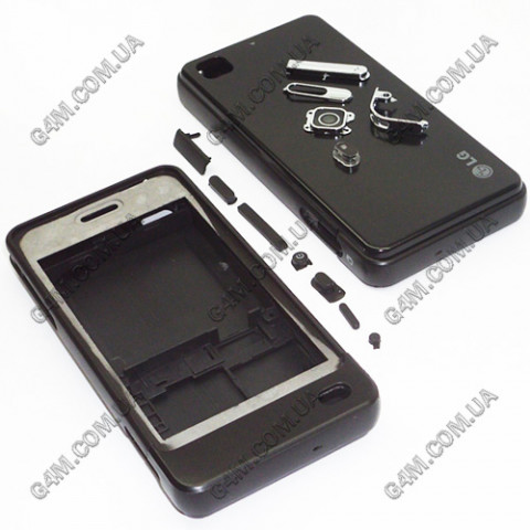 Корпус LG GD510 черный (High Copy)
