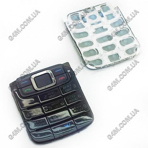 Клавиатура Nokia 3110 classic черная, кириллица, High Copy