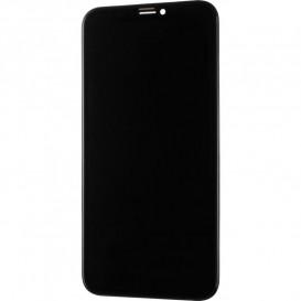 Дисплей Apple iPhone X с тачскрином и рамкой, черный (OLED)