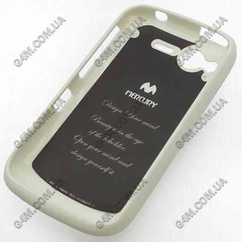 Накладка пластиковая MERCURY для HTC G12 S510e Desire S белая