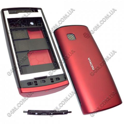 Корпус Nokia 500 красный (High Copy)