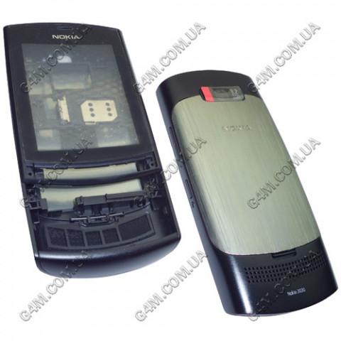 Корпус Nokia 3030, Asha 303 черный (High Copy)