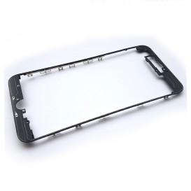 Рамка крепления дисплейного модуля для Apple iPhone 7 Plus (черная)