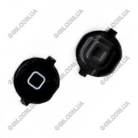 Внешняя кнопка меню Apple iPhone 3G, 3GS черная