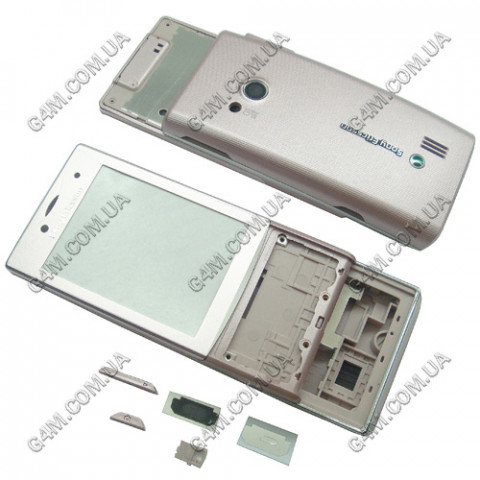 Корпус Sony Ericsson J20 розовый, High Copy