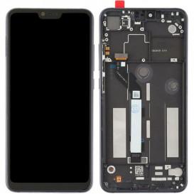 Дисплей Xiaomi Mi8 Lite с тачскрином и рамкой, черный