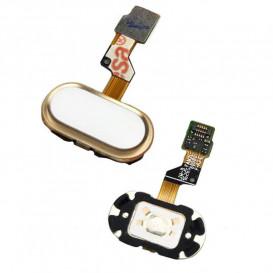 Шлейф Meizu M3s, M3s mini для кнопки меню, золотистый
