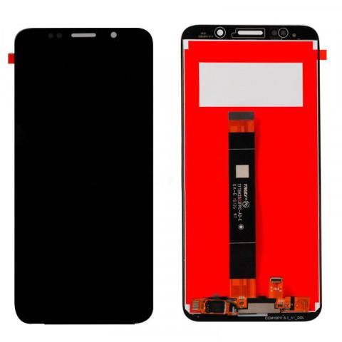Дисплей Huawei Y5 (2018 года) с тачскрином, черный