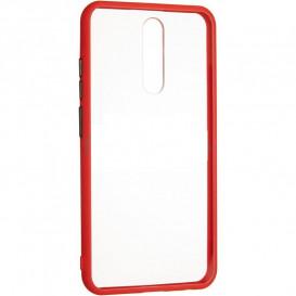 Накладка Gelius Bumper для Xiaomi Redmi 8 (красного цвета)