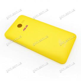 Задняя крышка Asus ZenFone 4 (A400CXG) желтая (Оригинал)