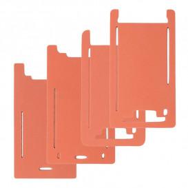 Форма резиновая для установки стекла с рамкой Apple iPhone 5, 5S