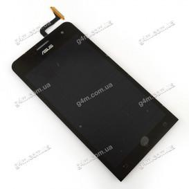 Дисплей Asus ZenFone 5 (A500CG), ZenFone 5 (A500KL), ZenFone 5 (A501CG) с тачскрином, черный