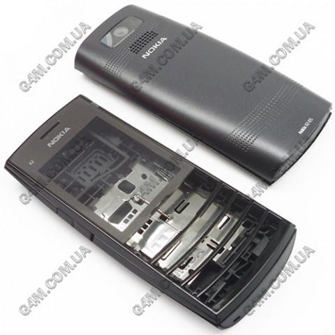 Корпус Nokia X2-05 черный (High Copy)