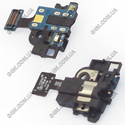 Коннектор наушника (разьем гарнитуры) Samsung i337, i9500, i9505 Galaxy SIV с компонентами
