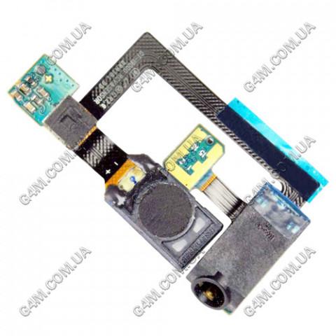 Коннектор наушника (разьем гарнитуры) Samsung i9000 Galaxy S, i9001 Galaxy с шлейфом и компонентами
