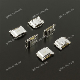 Коннектор зарядки Samsung R530, i535, i747, T999, i9300 Galaxy S3, i9200, i9205, i9208, P729, R960, L600, i527, E310 Galaxy Mega 6.3, SM-T530 Galaxy Tab 4