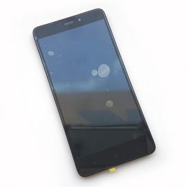 Дисплей Xiaomi Redmi Note 4 с тачскрином и рамкой, черный
