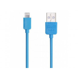 USB дата-кабель Remax Light Speed RC-006i Lightning для Apple iPhone голубой 1м
