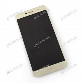 Дисплей Huawei Y6 Pro, Enjoy 5 (TIT-U02) с тачскрином, золотистый