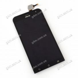 Дисплей Asus ZenFone 2 Laser (ZE500KG, ZE500KL) с тачскрином, черный