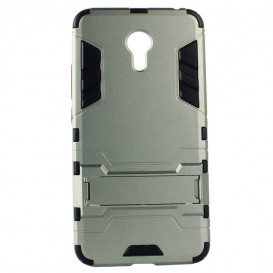 Накладка HONOR Hard Defence для Meizu M6s (серого цвета)