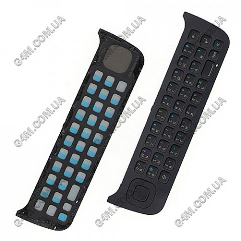 Клавиатура Nokia N97 черная, русская (Оригинал) слегка б/у
