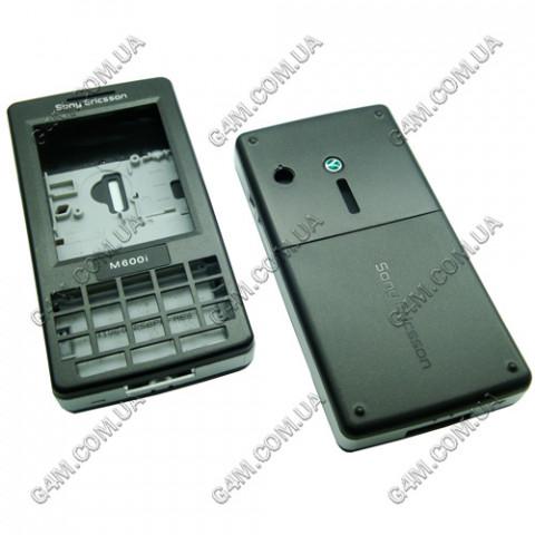 Корпус Sony Ericsson M600i темно-серый (High Copy)