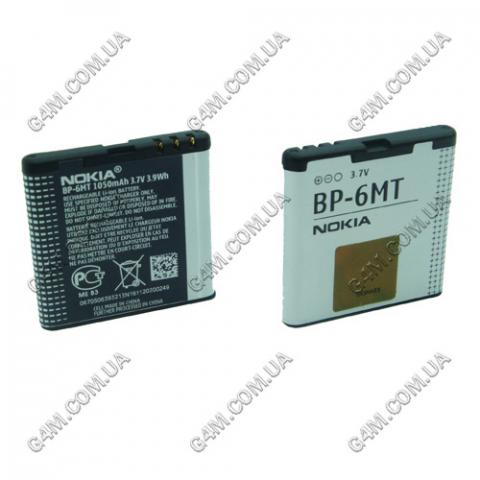 Аккумулятор BP-6MT для Nokia E51, N81, N81 8Gb, N82, 6720c (High copy)