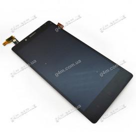 Дисплей Xiaomi Redmi Note с тачскрином, черный