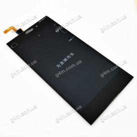 Дисплей Xiaomi Mi3 с тачскрином, черный