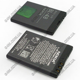 Аккумулятор BL-4B для Nokia 5000, N76, 2630, 2760, 6111, 7370, 7373, 7500 Prism, 7070 (High copy)