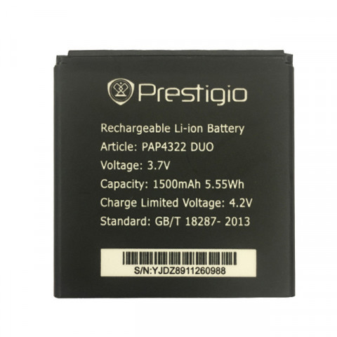Аккумулятор для Prestigio MultiPhone 4322, PAP4322