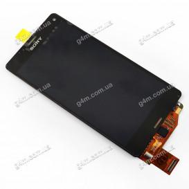 Дисплей Sony D5803 Xperia Z3 Compact Mini, D5833 Xperia Z3 Compact Mini с тачскрином, черный