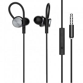 Гарнитура GORSUN GS-C10 черная с микрофоном