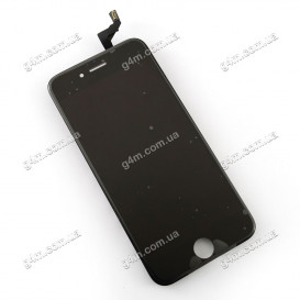 Дисплей Apple iPhone 6S с тачскрином и рамкой, черный (Оригинал)