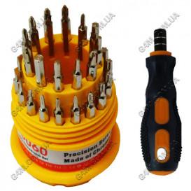 Набор отвёрток KS-3060 с 30 наконечниками