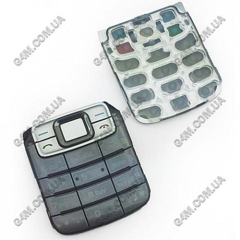 Клавиатура Nokia 3110 classic серая, кириллица, High Copy