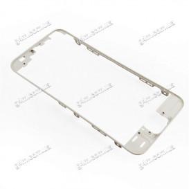 Рамка крепления дисплейного модуля для Apple iPhone 5S (белая)