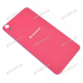 Задняя крышка Lenovo S850 розовая