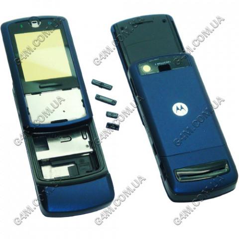 Корпус Motorola Z3 синий, High Copy