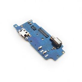 Плата разъема зарядки Meizu M5s с компонентами