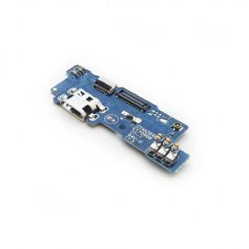 Плата разъема зарядки Meizu M5c с компонентами