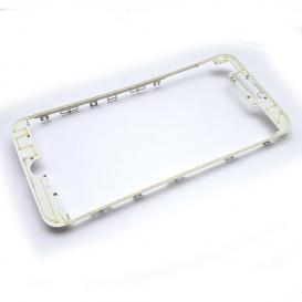 Рамка крепления дисплейного модуля для Apple iPhone 7 Plus (белая)
