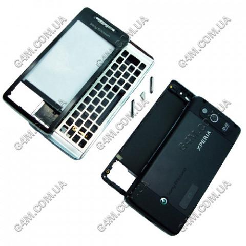 Корпус Sony Ericsson X1 Xperia чёрный, High Copy