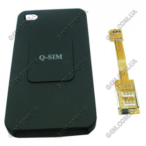 Задняя крышка на 2 сим карты для Apple iPhone 4G