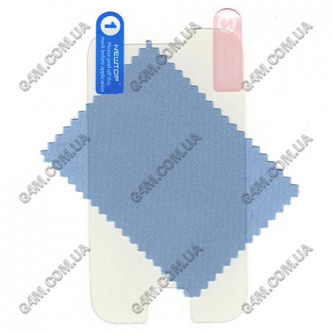 Защитная пленка для Samsung S7500 Galaxy Ace Plus прозрачная глянцевая