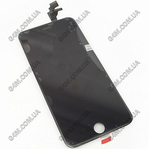 Дисплей Apple iPhone 6 Plus с тачскрином и рамкой, черный