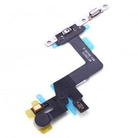 Шлейф Apple iPhone 6S Plus для включения/выключения с микрофоном
