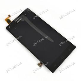 Дисплей Huawei Ascend G6-U10 с тачскрином, черный